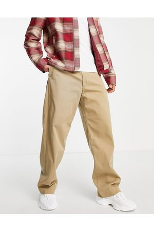 Levi's Men Chinos - Levi's Skateboarding loose fit chino trousers in harvest gold -Neutral