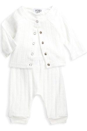 Leset Pyjamas - Baby's & Little Kid's Pointelle Knit Pajama Set
