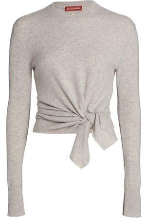 Altuzarra Women Jumpers - Nalini Knotted Cashmere Sweater