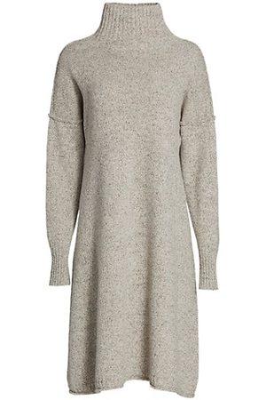 Issey Miyake Women Knitted Dresses - Sand Knit Turtleneck Dress