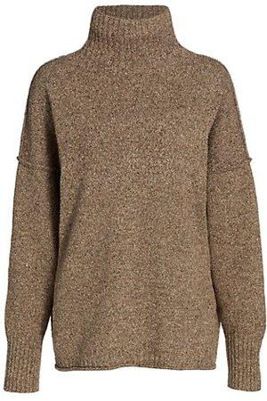 Issey Miyake Women Jumpers - Sand Knit Turtleneck Sweater