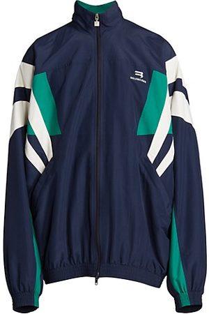Balenciaga Men Tracksuits - Nylon Track Suit Jacket