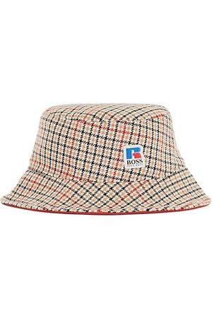 HUGO BOSS Men Hats - X Russell Athletic Plaid Bucket Hat