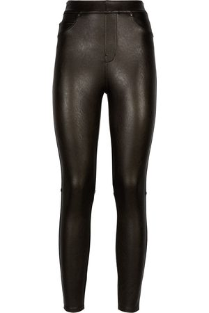 Spanx Women Leather Pants - Faux leather skinny trousers