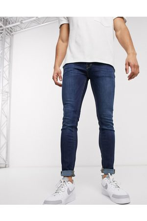 JACK & JONES Men Skinny - Intelligence Liam skinny fit jeans in mid blue wash