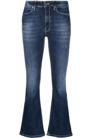 Dondup Mid-rise bootcut jeans