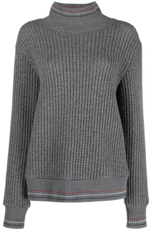 Thom Browne Waffle-knit roll-neck jumper