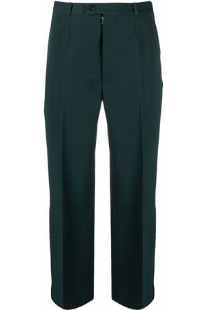 Maison Margiela Piped-trim tailored trousers