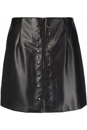 Patrizia Pepe Women Pencil Skirts - Mini leather-effect skirt