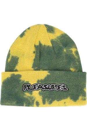 Pleasures Backbone tie-dye logo beanie