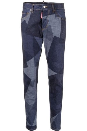 Dsquared2 Panelled-effect slim-fit jeans