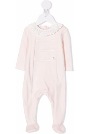 PAZ RODRIGUEZ Contrast-trimmed fleece pajama
