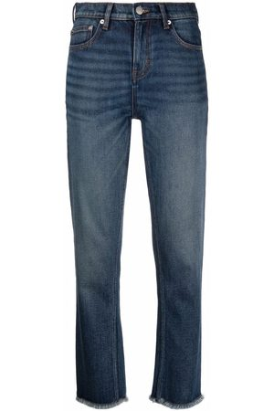 Maje Mid-rise slim-fit jeans