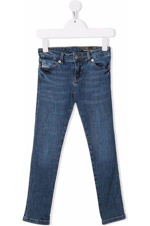Diesel Girls Skinny - Mid-rise skinny jeans