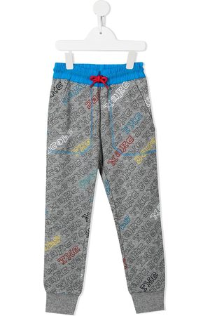 The Marc Jacobs Logo-print track pants