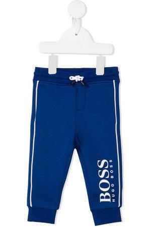 HUGO BOSS Boys Trousers - Logo print tracksuit bottoms