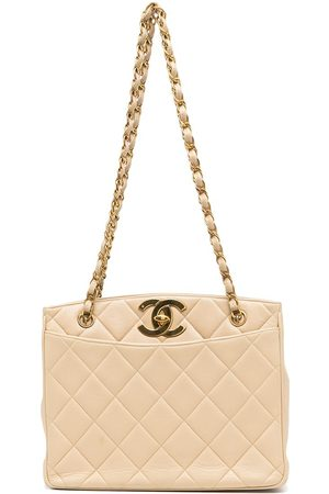 CHANEL Women Tote Bags - 1995 quilted CC-turnlock tote bag