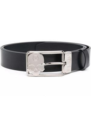 Philipp Plein Men Belts - Buckle-fastening leather belt