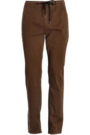 HUGO BOSS Men Stretch Pants - Tapered-fit stretch-cotton trousers