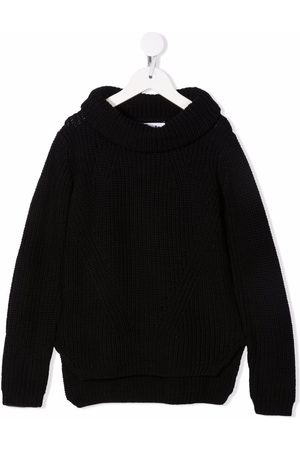 Molo Boys Jumpers - Bosse ribbed-knit organic cotton jumper