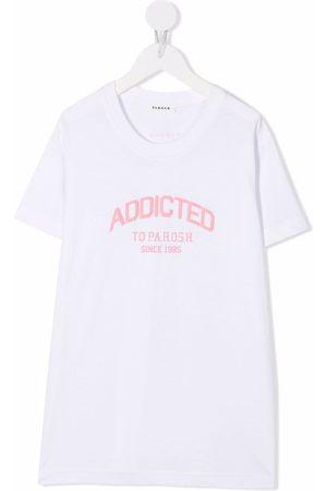 P.a.r.o.s.h. Logo-print cotton T-shirt