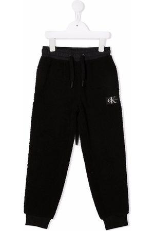 Calvin Klein Boys Trousers - Logo patch track pants