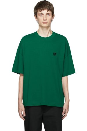Ami Embroidered Logo Oversize T-Shirt
