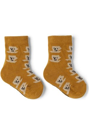 Bobo Choses Socks - Baby Tan Cup Of Tea All Over Socks