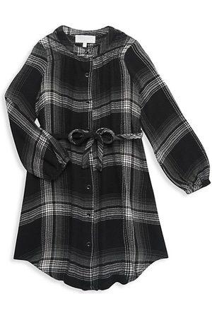 Bella Dahl Girls Casual Dresses - Little Girl's & Girl's Smocked Shirt Dress