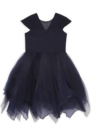 Zoe LTD Girl's Parka Organza Dress