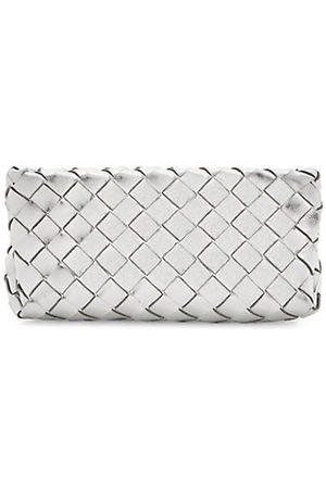 Bottega Veneta Women Handbags - Intrecciato Metallic Leather Makeup Case