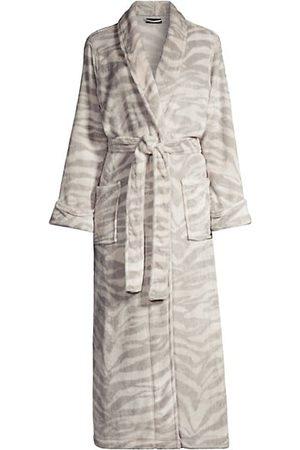 Natori Plush Tigress Belted Robe