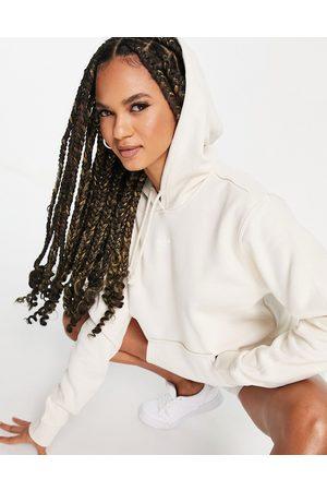 adidas Essentials hoodie in oatmeal