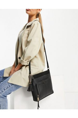 River Island Nylon double compartment duffle bag in