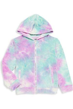 Mia Girls Sweatshirts - Girl's Tie-Dye Hoodie Sweatshirt