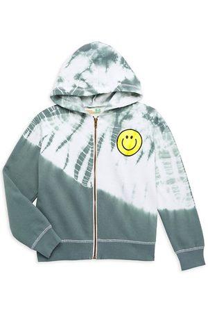 Vintage Havana Girls Sweatshirts - Girl's Olive Cloud Fleece Hooded Sweatshirt