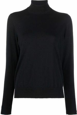 COLOMBO Roll-neck wool jumper