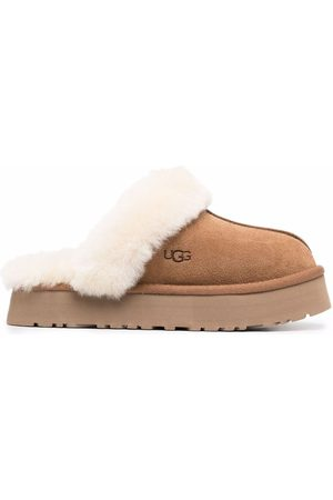 UGG Women Slippers - Disquette suede slippers