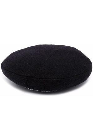 Simonetta Boys Hats - Knit-stripe flat cap