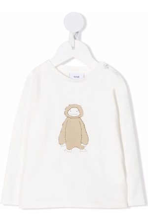 KNOT Baby Long Sleeve - Fluffly Creature long-sleeved T-shirt