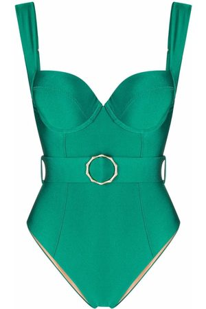 Noire Swimwear Belted one-piece swimsuit
