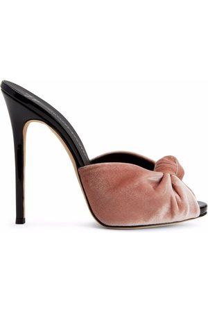 Giuseppe Zanotti Women Sandals - Bridget velvet sandals