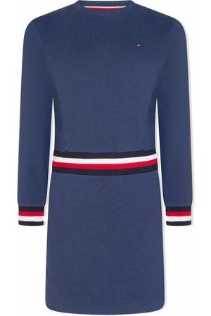 Tommy Hilfiger Girls Casual Dresses - Logo-striped jumper dress