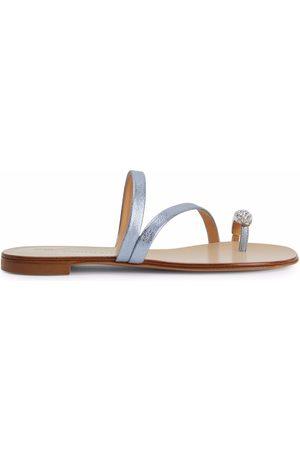Giuseppe Zanotti Hillary crystal-ring sandals