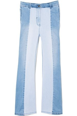 Stella McCartney Two-tone panelled jeans
