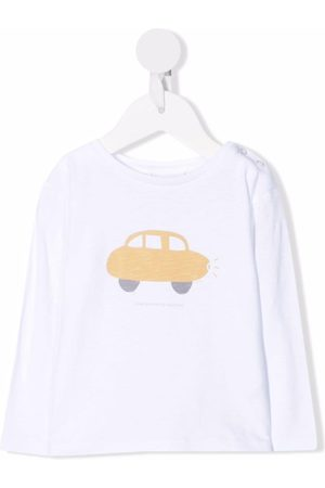KNOT Baby Long Sleeve - A Happy Car long-sleeved T-shirt