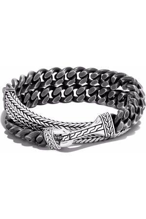 John Hardy Rata chain curb wrap bracelet