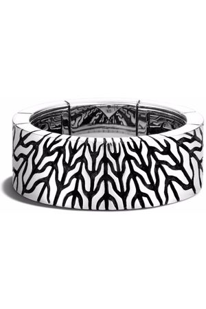 John Hardy Men Rings - Radial 9mm band ring