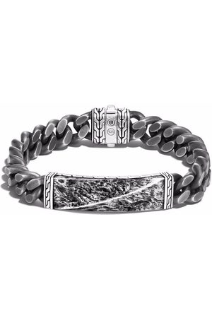 John Hardy Reticulated curb chain 11mm bracelet