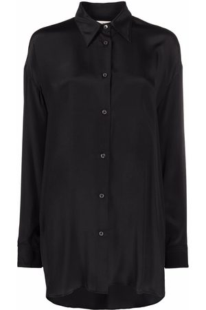 There Was One Women Long Sleeve - Long-sleeve button-up overshirt